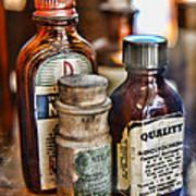 Doctor The Mercurochrome Bottle Print by Paul Ward