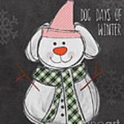 Dog Days  Print by Linda Woods