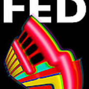 Dont Fight The Fed Print by Charles Stuart