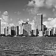 Downtown Miami Print by Eyzen Medina