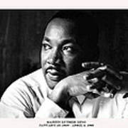 Dr. Martin Luther King Jr. Print by David Bearden