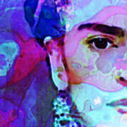 Dreaming Of Frida - Art By Sharon Cummings Print by Sharon Cummings