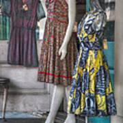 Dresses For Sale Print by Brenda Bryant