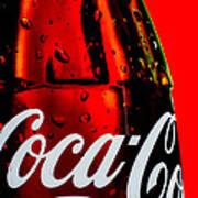 Drink Coca Cola Print by Bob Orsillo