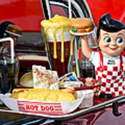 Drive-in Food Classic Print by Carolyn Marshall