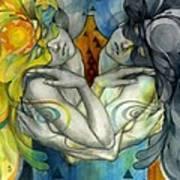 Duality Print by Patricia Ariel