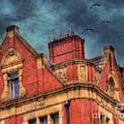 Dublin House Roof Top Print by Juli Scalzi
