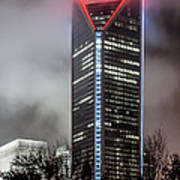 Duke Energy Center Print by Brian Young