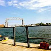 Duluth Docks Print by Danielle  Broussard