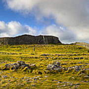 Dun Aengus - Ancient Irish History Print by Mark E Tisdale