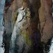 Dwelling In Her Dark Space Print by Gun Legler