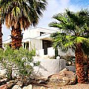 E. Stewart Williams Home Palm Springs Print by William Dey