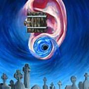 Ear To Hear Print by Beth Smith