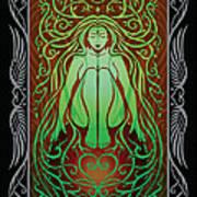 Earth Spirit V.2 Print by Cristina McAllister