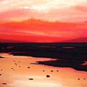 Earth Swamp Print by Paul Meijering