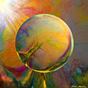 Easter Orb Print by Robin Moline