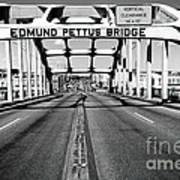 Edmund Pettus Bridge Print by Danny Hooks