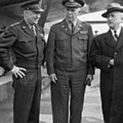 Eisenhower & Marshall 1944 Print by Granger
