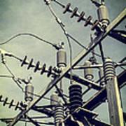 Electricity Print by Edward Fielding