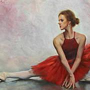 Elegant Lines Print by Anna Rose Bain