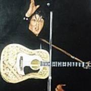 Elvis 1956 Print by Bryan Bustard