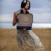 Empty Suitcase Print by Joana Kruse