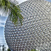 Epcot Globe Print by Thomas Woolworth