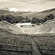 Epidavros Theatre Print by David Waldo