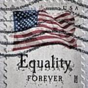 Equality Forever Print by Patricia Januszkiewicz