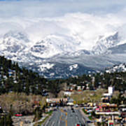Estes Park In The Spring Print by Tranquil Light  Photography