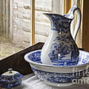 Ewer And Basin Print by Michael DeFreitas