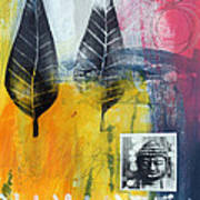 Exhale Print by Linda Woods