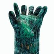 Fabulas Malachite Hand Print by Mark M  Mellon