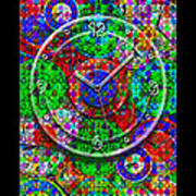 Faces Of Time 3 Print by Mike McGlothlen
