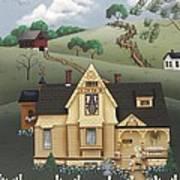 Fairhill Farm Print by Catherine Holman