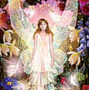 Fairy Crowning Print by Garry Walton