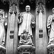 Faithful Witnesses -- Martin Luther King Jr Remembered With Bishop Romero And Duchess Elizabeth Print by Stephen Stookey