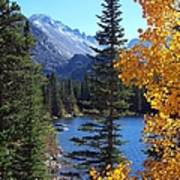 Fall At Bear Lake Print by Tranquil Light  Photography