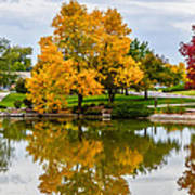 Fall Fort Collins-2 Print by Baywest Imaging