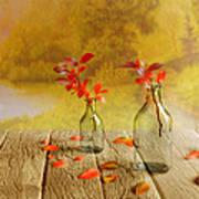 Fallen Leaves Print by Veikko Suikkanen