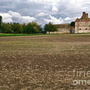 Farm Castle Print by Olivier Le Queinec