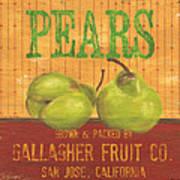 Farm Fresh Fruit 1 Print by Debbie DeWitt