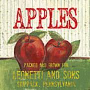 Farm Fresh Fruit 3 Print by Debbie DeWitt