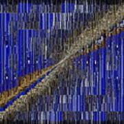 Fault Line Blues Print by Tim Allen