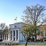 Federal Reserve Building Print by Olivier Le Queinec
