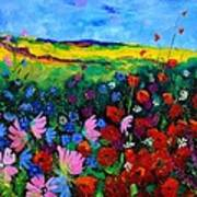 Field Flowers Print by Pol Ledent