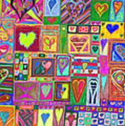 find U'r love found v6 Print by Kenneth James