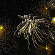 Fireworks As I See Them  Print by F Leblanc
