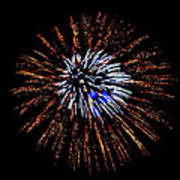 Fireworks Exposion Print by Gene Walls