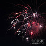 Fireworks Series Xi Print by Suzanne Gaff